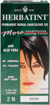 Herbatint Permanent Herbal Haircolour Gel 1 or 2 applications product image.