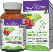 New Chapter Perfect Prenatal 96 tab product image.