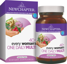 New Chapter Every Woman's One Daily 40+ 48 tab product image.