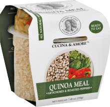 Cucina & Amore Quinoa Meal 7.9 oz. product image.