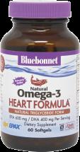 Bluebonnet Epax Omega-3 1000 Mg 60 softgels product image.