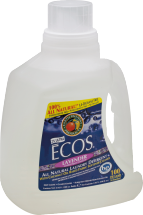 Ecos All Natural Laundry Detergent Ultra 100 loads product image.