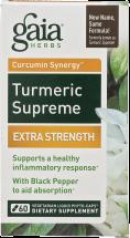 Turmeric Supreme Extra Strength product image.