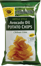 Good Health Natural Foods Avocado Oil Potato Chips 5 oz product image.