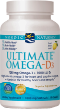 Ultimate Omega-D3 product image.