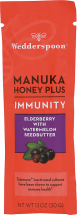 Manuka Honey Plus Immunity With Elderberry product image.