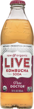 Pure Doctor Kombucha Soda product image.