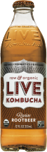 Live Soda Kombucha  Revive Root Beer 12 oz product image.