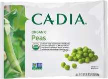 Cadia Selected Organic Frozen Veggie 15 OZ product image.