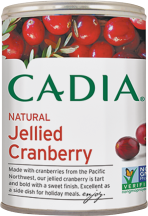 Organic Jellied Cranberry Sauce product image.