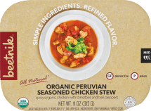Beetnik Assorted Frozen Meals 11 oz product image.
