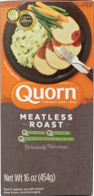 Quorn Turk'Y Roast Meatless, Soy And Gluten Free Turkey Roast 16 oz product image.