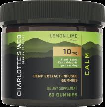 Hemp Extract-Infused Gummies product image.
