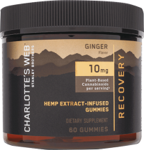 Hemp Extract-Infused Gummies - Ginger - Recovery product image.