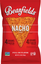 Nacho Bean & Rice Chips product image.