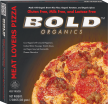 Bold Organics Gluten-Free Pizza 12.5 oz. product image.