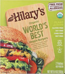 World's Best Veggie Burgers  product image.