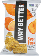 Sweet Potato Tortilla Chips product image.