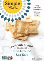 Simple Mills Almond Flour Crackers 4.25 oz product image.