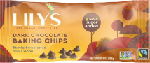 Lilys Sweets Premium Baking Chips 9 oz product image.