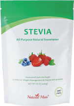 Natural Mate SWEETNER STVIA NTRAL MTE 12 OZ  product image.