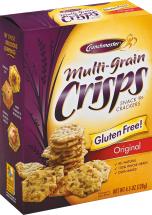 Crunch Masters Original Multigrain Crisp 4.5 oz product image.