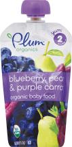 Plum Organics Assorted Baby Food 4.22 oz product image.