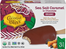Organic Sea Salt Caramel in Chocolate Bars product image.