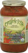 Organicville Pasta Sauce 25 oz. product image.