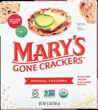 Organic Original Crackers product image.