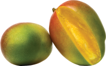 Organic Bowen Mango product image.