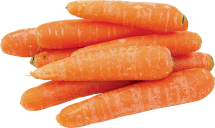 Organic 5 lb Bagged Carrots product image.