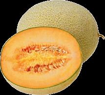 Organic Cantaloupe product image.