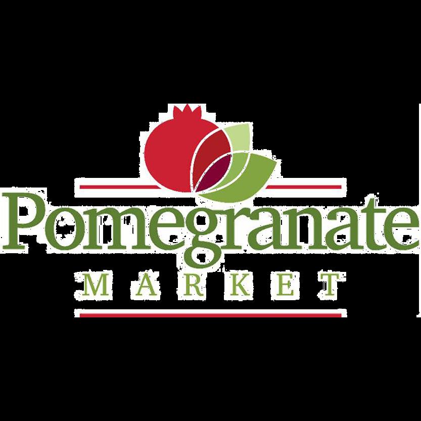 Pomegranate Market logo.