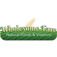 Wholesome Fare Natural Foods & Vitamins logo.