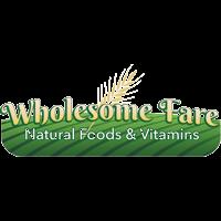 Wholesome Fare Natural Foods & Vitamins logo.