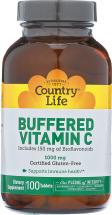 Buffered Vitamin C 1000 mg product image.