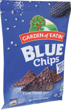 Garden Of Eatin' Salted Blue Tortilla Chips 8.1 oz product image.