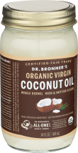 Organic Virgin Coconut Oil product image.