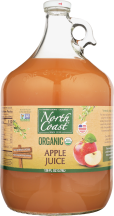 North Coast Organi Apple Juice 128 oz product image.