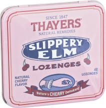 Slippery Elm Lozenges product image.