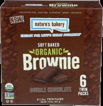 Organic Brownie & Fig Bars product image.