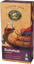 Nature's Path Assorted Waffles 7.4 oz product image.