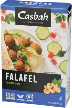 Casbah Garbanzo Bean  Mix Falafel 10 oz product image.