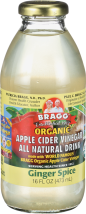 BRAGG's Organic Apple Cider Vinegar Drink 16 fl oz Assorted Varieties product image.