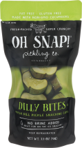 Oh Snap! Assorted Pickles3.5 oz product image.
