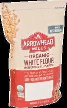 White Unbleached Organic Flour product image.
