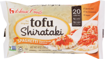 HOUSE FOODS Tofu Shirataki Spaghetti 8 oz Assorted Varieties product image.