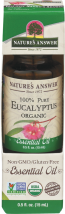 Essential Oil Organic Eucalyptus product image.