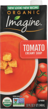 IMAGINE FOODS Creamy Tomato Soup 32oz product image.